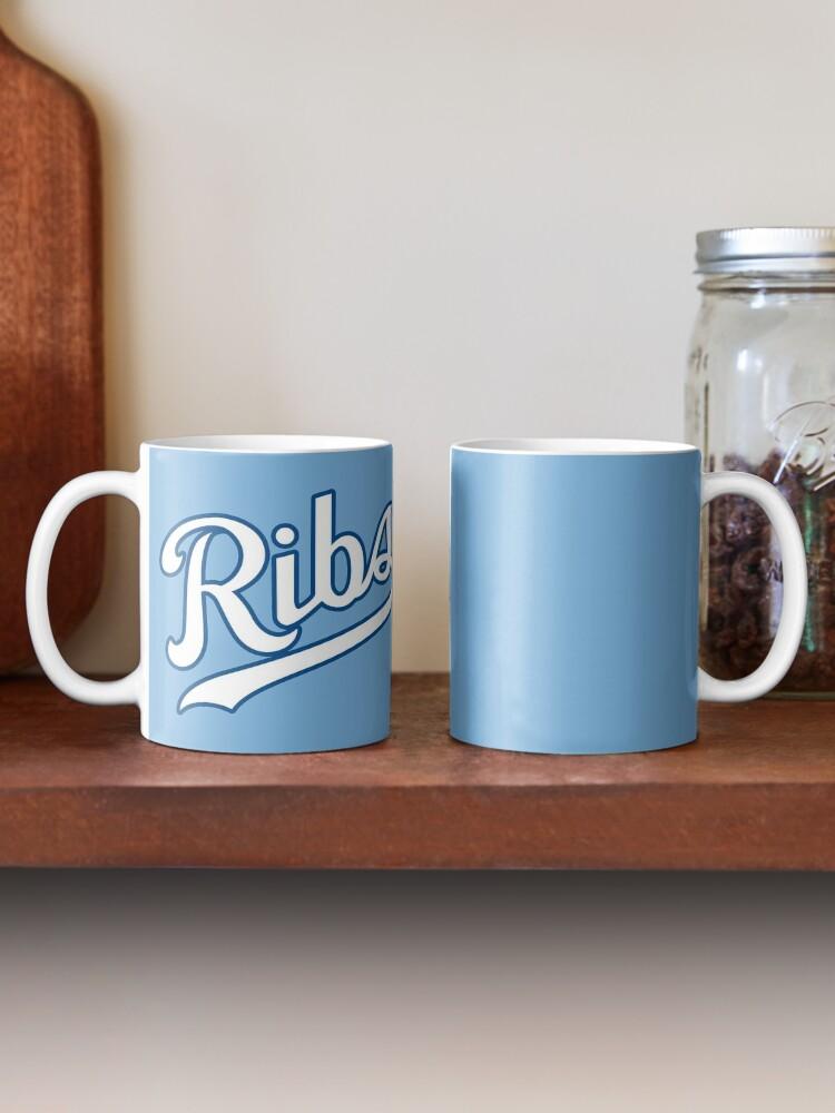 Alternate view of KC Ribs - Powder Blue 2 Mug
