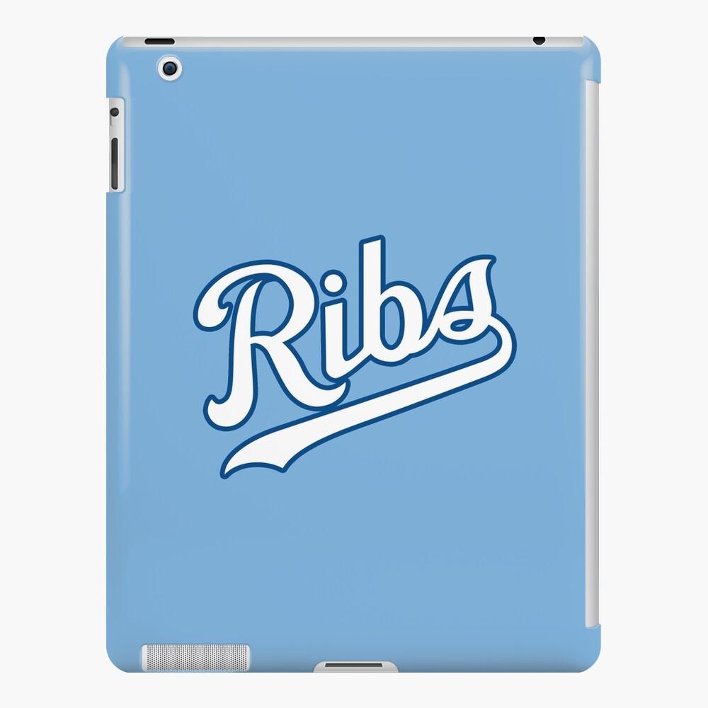 KC Ribs - Powder Blue 2 iPad Case & Skin