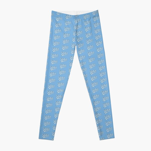 KC Ribs - Powder Blue 2 Leggings