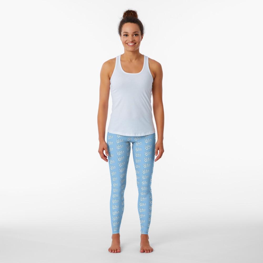 KC Ribs - Powder Blue 2 Leggings