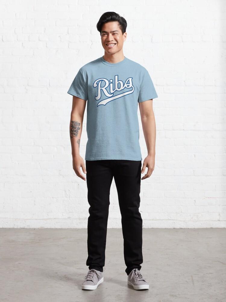 Alternate view of KC Ribs - Powder Blue 2 Classic T-Shirt