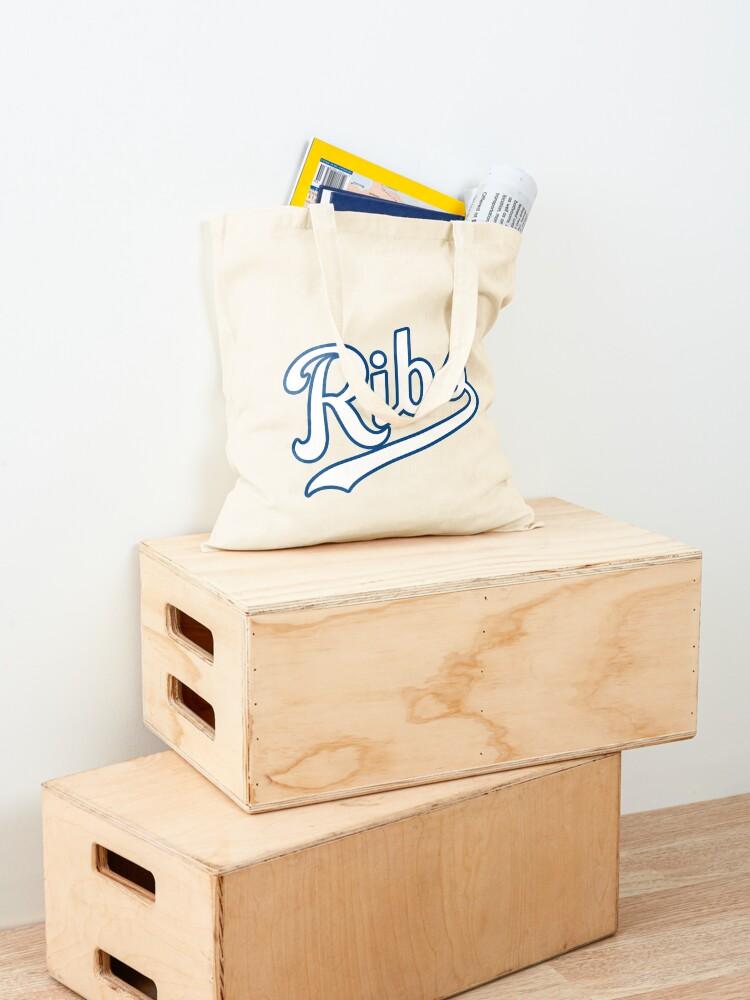 Alternate view of KC Ribs - Powder Blue 2 Tote Bag