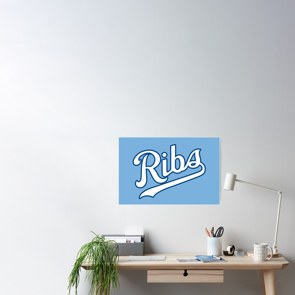 KC Ribs - Powder Blue 2 Poster