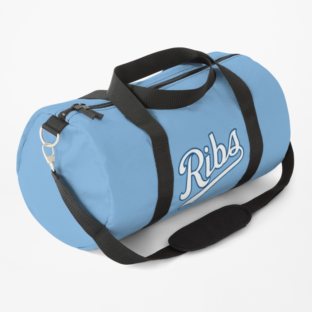 KC Ribs - Powder Blue 2 Duffle Bag