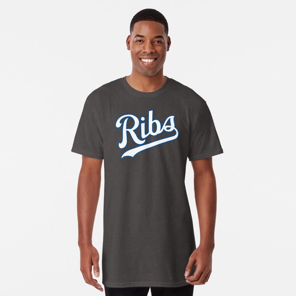 KC Ribs - Powder Blue 2 Long T-Shirt