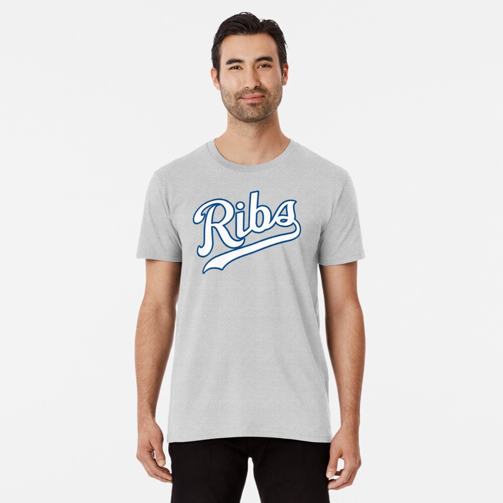 KC Ribs - Powder Blue 2 Premium T-Shirt