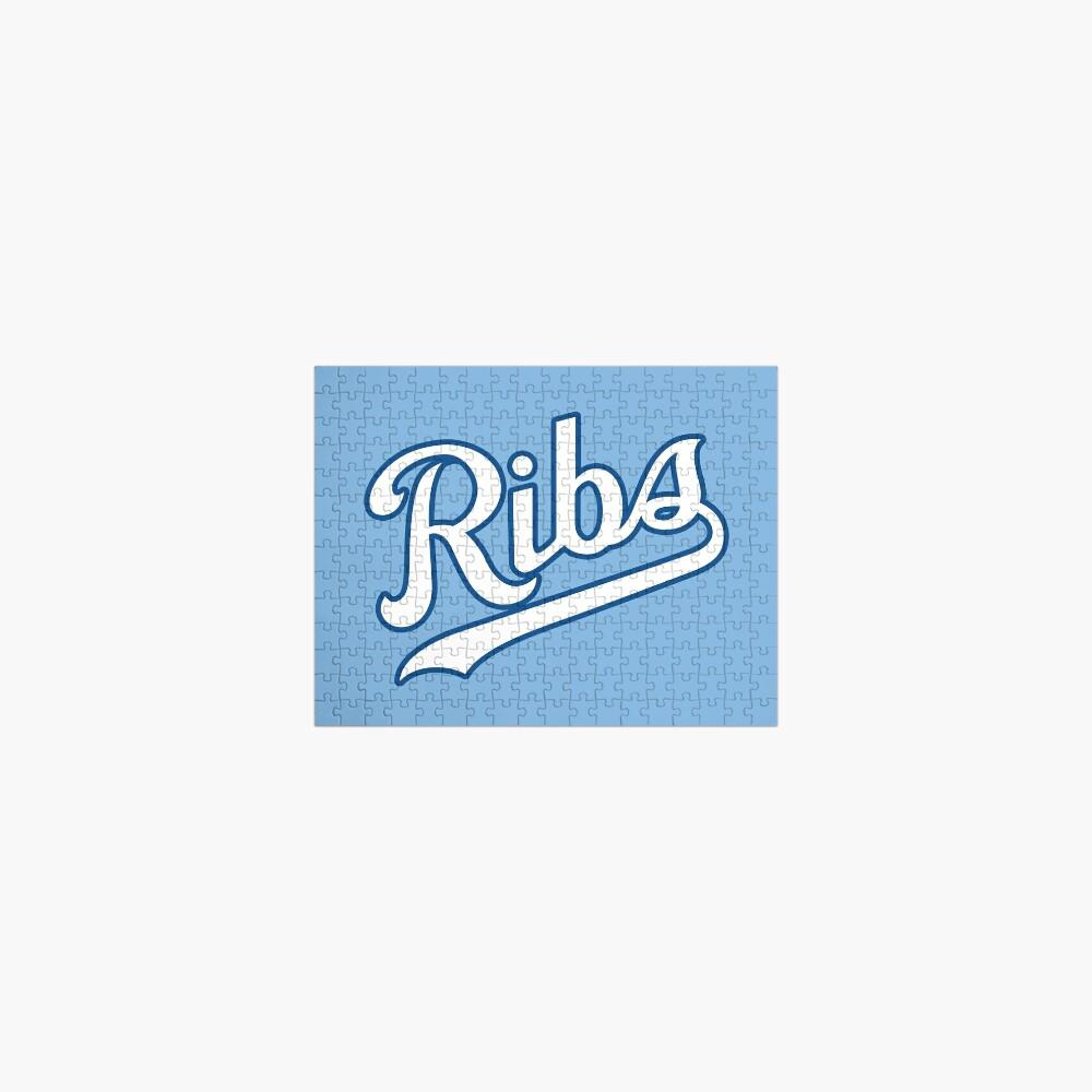 KC Ribs - Powder Blue 2 Jigsaw Puzzle