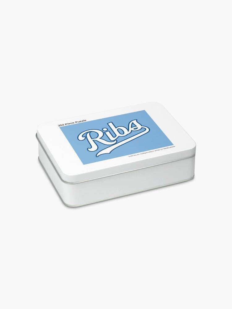 Alternate view of KC Ribs - Powder Blue 2 Jigsaw Puzzle