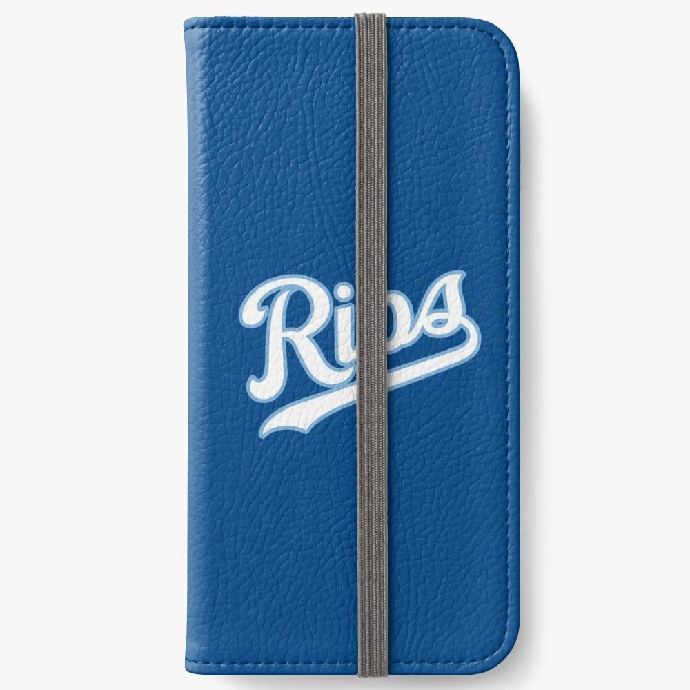 KC Ribs - Blue 2 iPhone Wallet