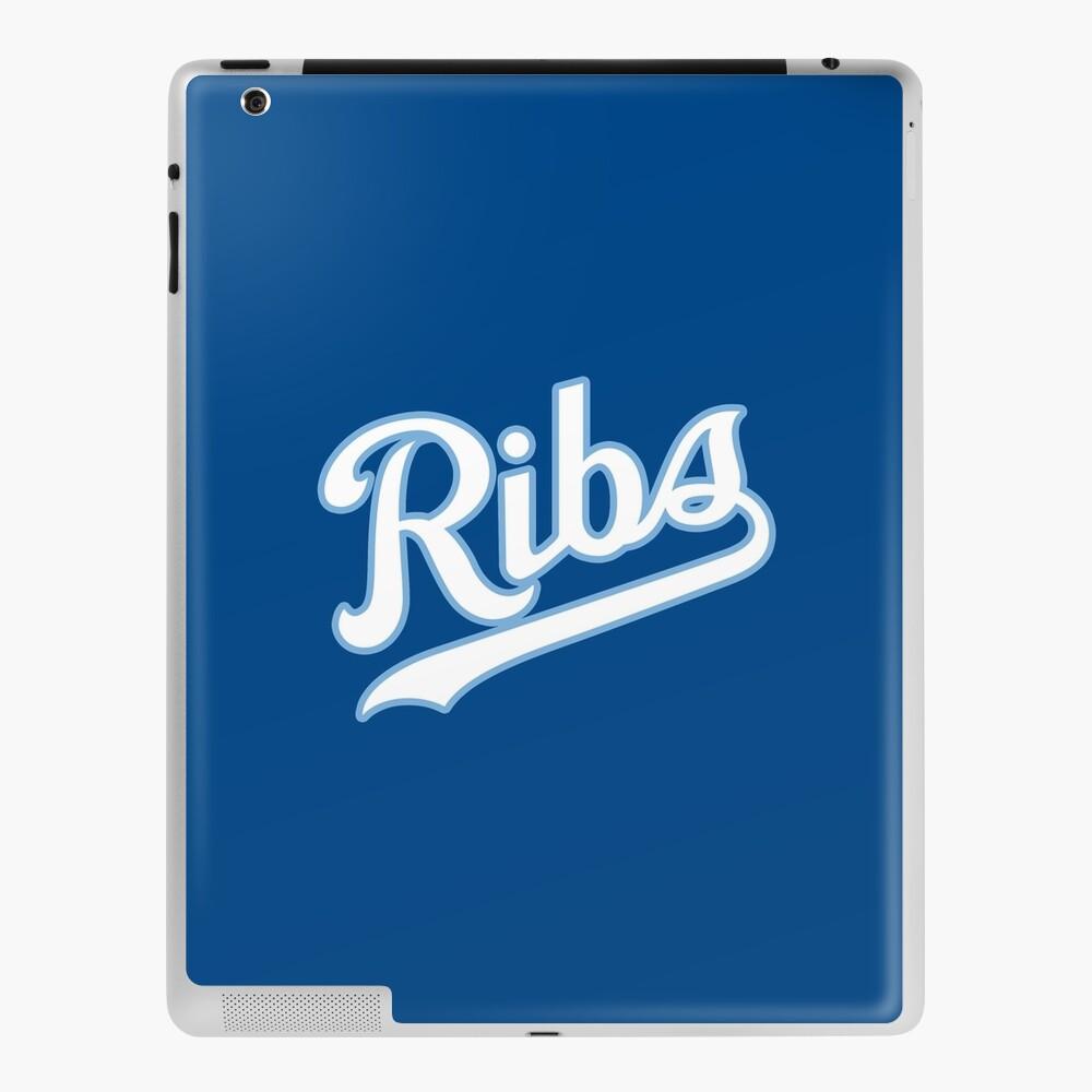 KC Ribs - Blue 2 iPad Case & Skin