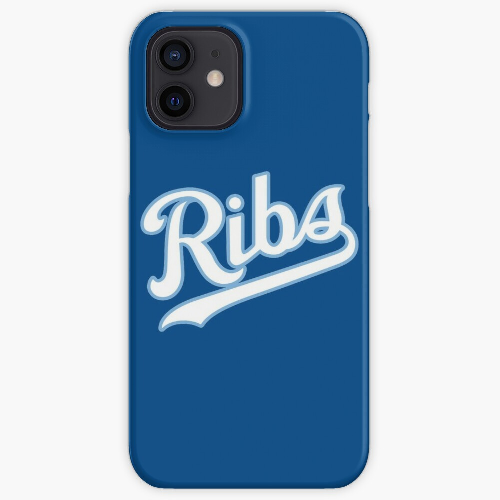 KC Ribs - Blue 2 iPhone Case & Cover