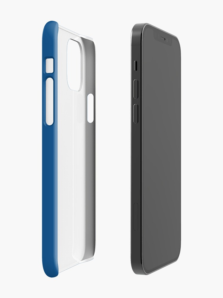 Alternate view of KC Ribs - Blue 2 iPhone Case & Cover