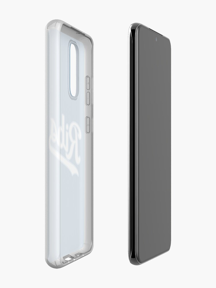 Alternate view of KC Ribs - Blue 2 Case & Skin for Samsung Galaxy