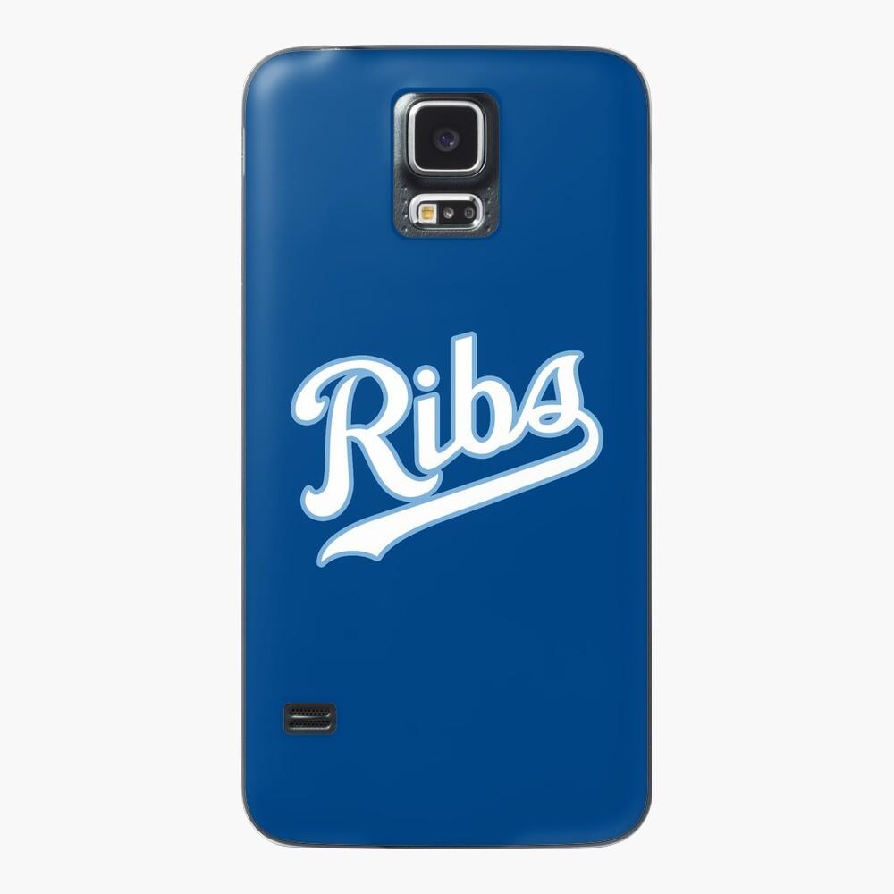 KC Ribs - Blue 2 Case & Skin for Samsung Galaxy