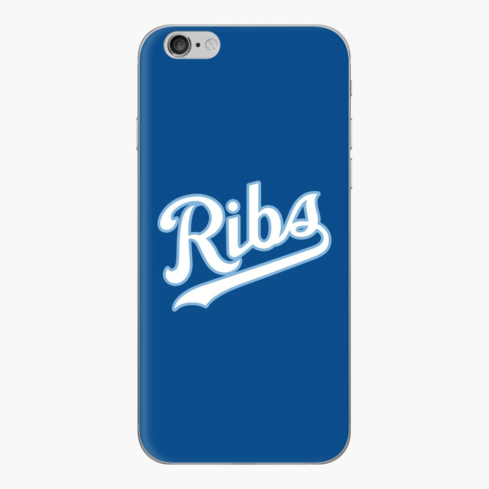 KC Ribs - Blue 2 iPhone Skin