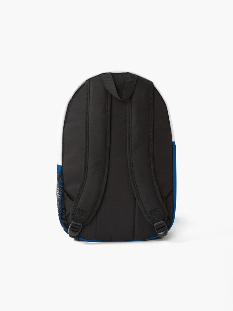 Alternate view of KC Ribs - Blue 2 Backpack