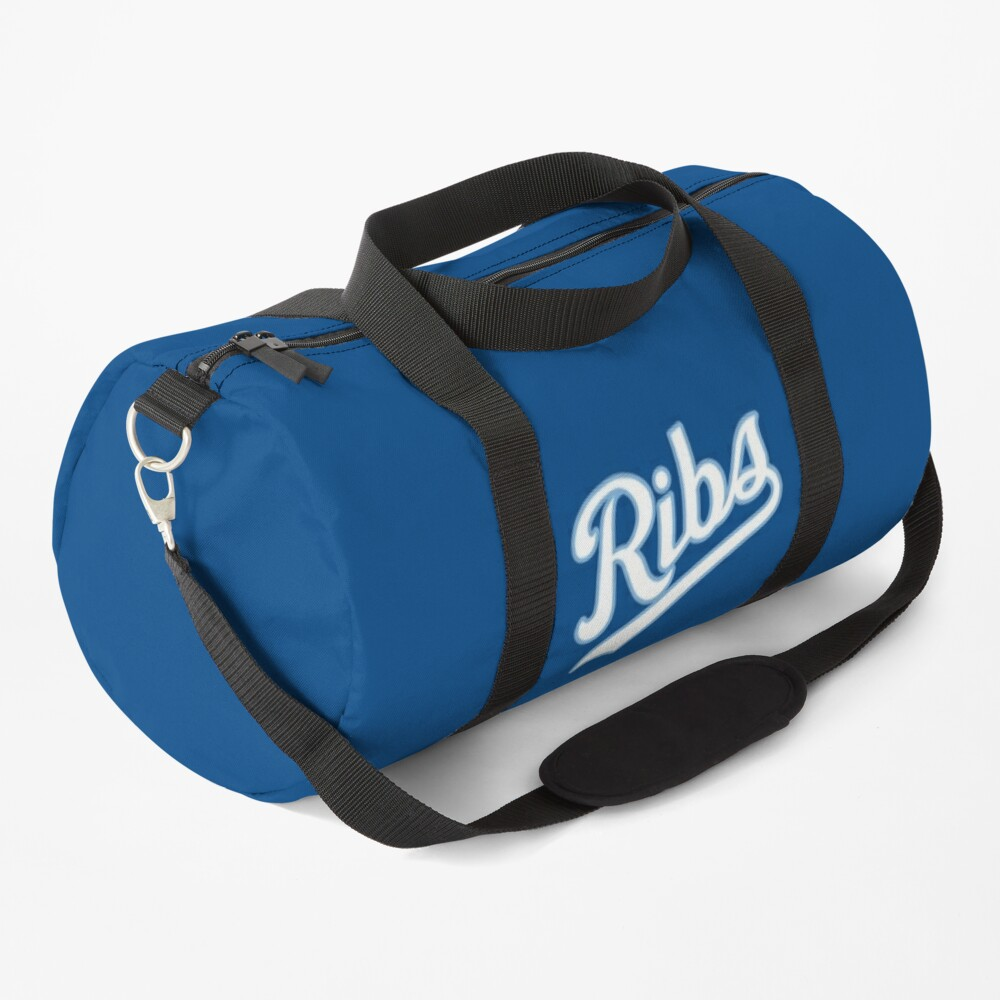 KC Ribs - Blue 2 Duffle Bag