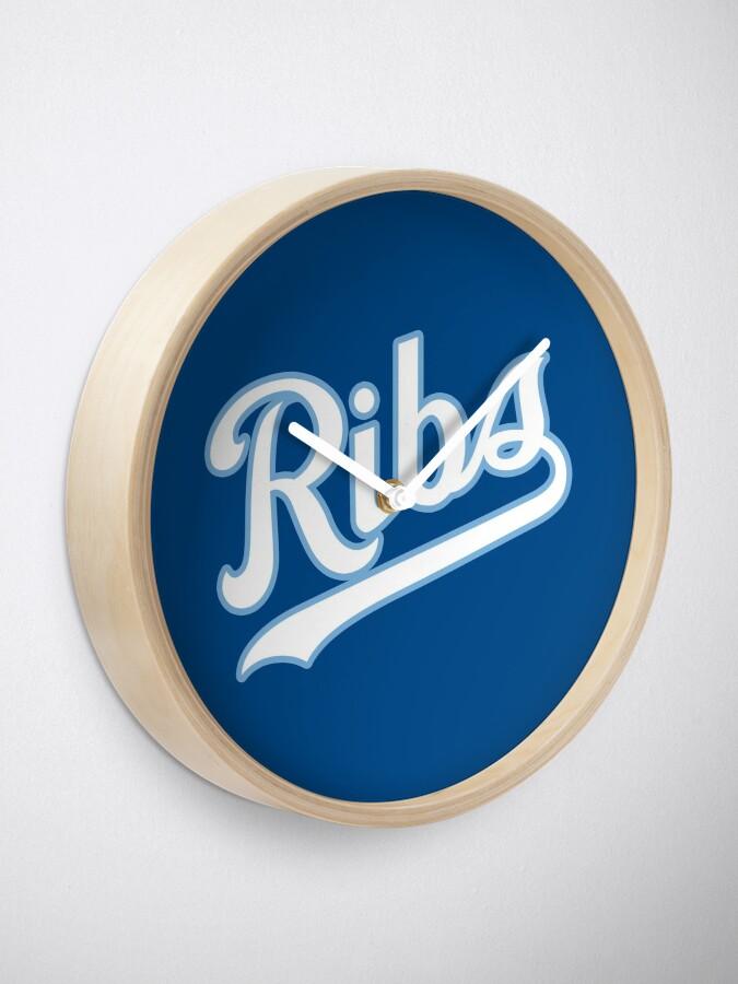 Alternate view of KC Ribs - Blue 2 Clock