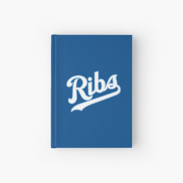 KC Ribs - Blue 2 Hardcover Journal