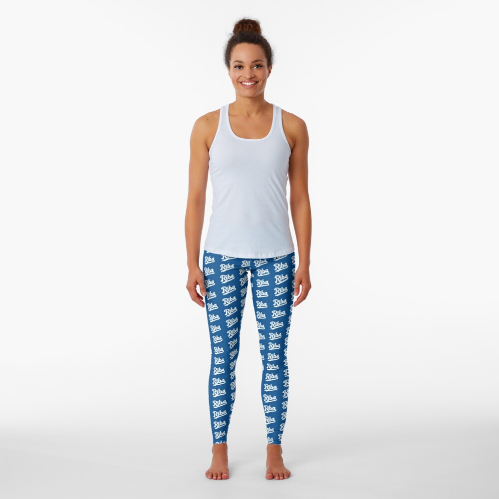 KC Ribs - Blue 2 Leggings