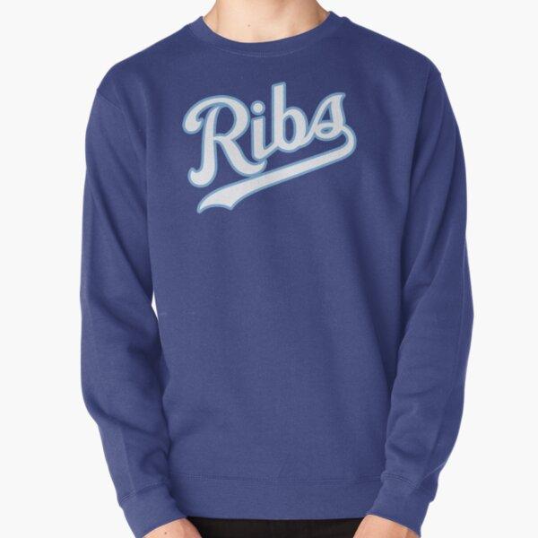 KC Ribs - Blue 2 Pullover Sweatshirt