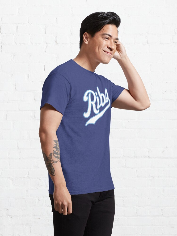 Alternate view of KC Ribs - Blue 2 Classic T-Shirt