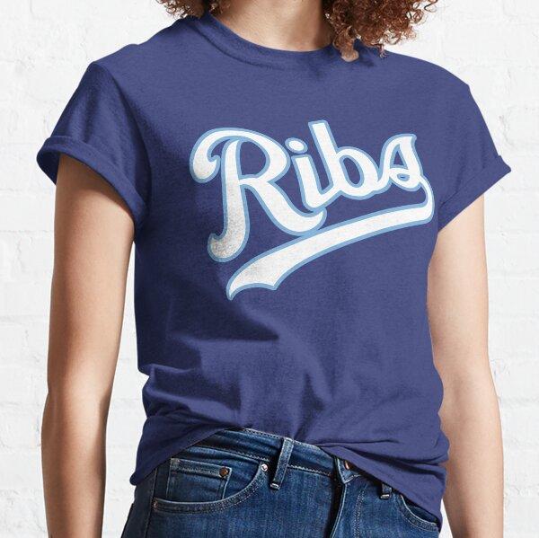 KC Ribs - Blue 2 Classic T-Shirt