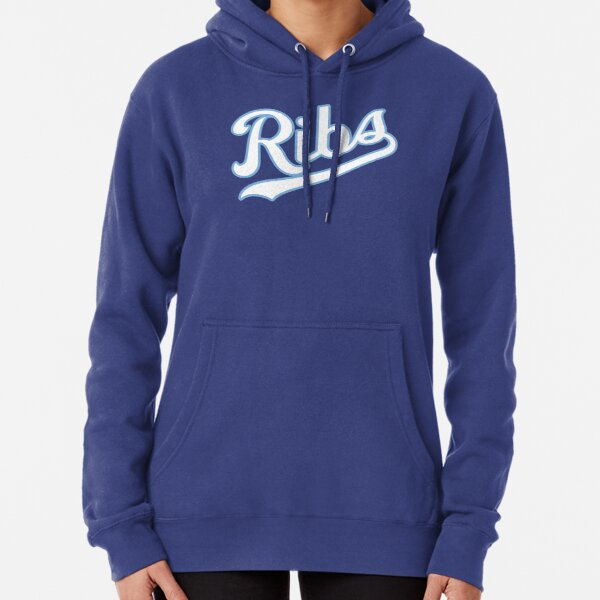 KC Ribs - Blue 2 Pullover Hoodie