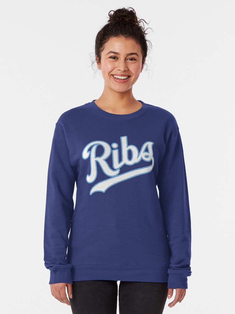 Alternate view of KC Ribs - Blue 2 Pullover Sweatshirt