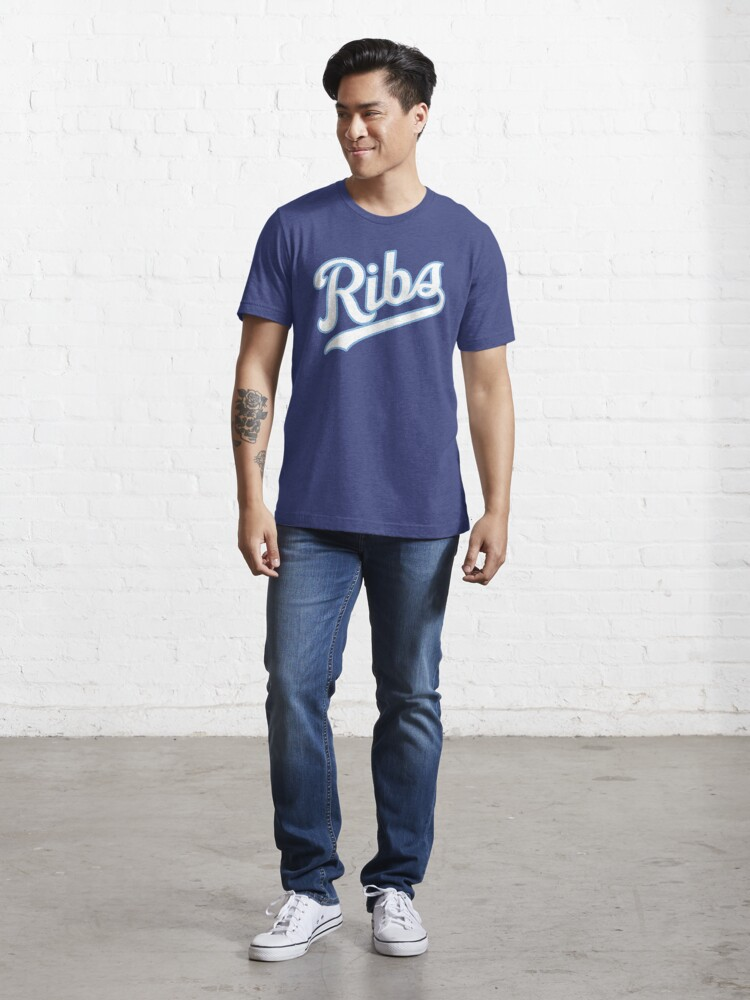 Alternate view of KC Ribs - Blue 2 Essential T-Shirt