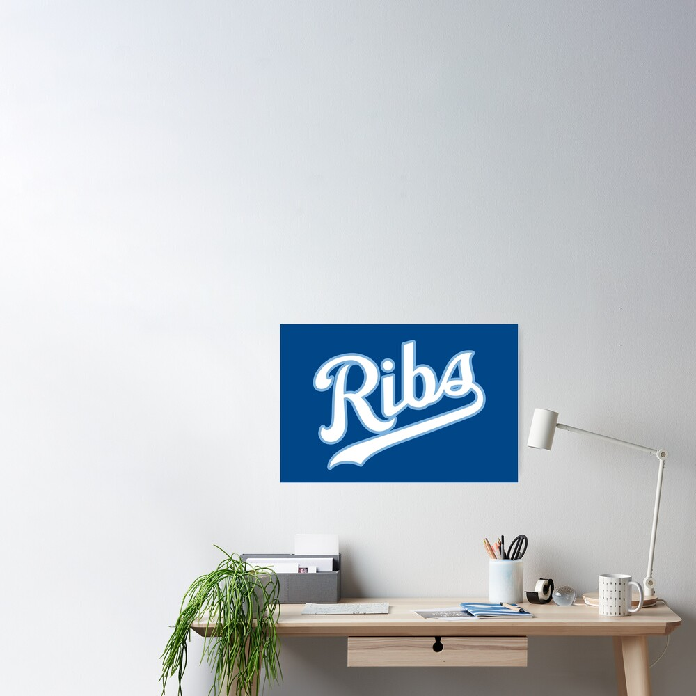 KC Ribs - Blue 2 Poster