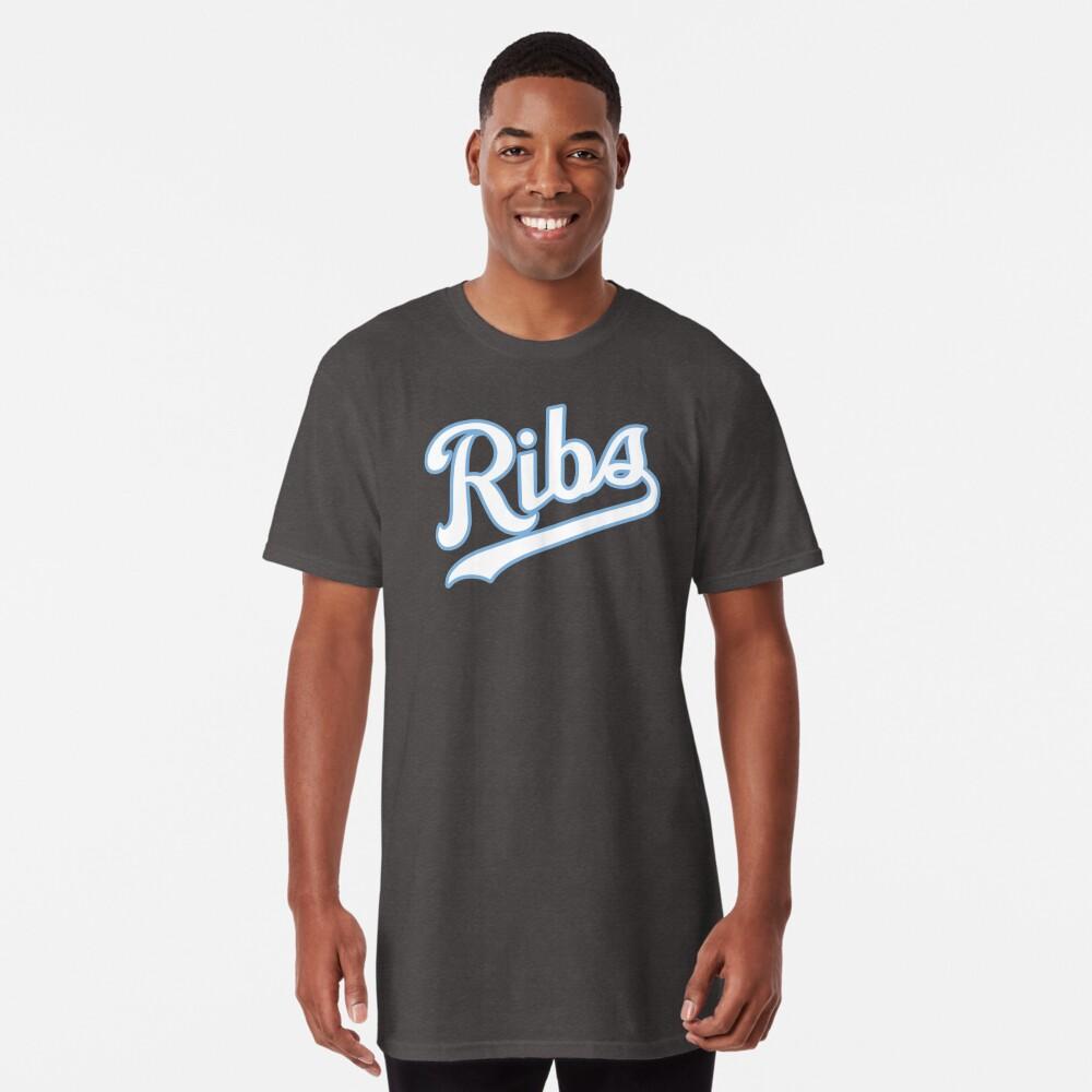 KC Ribs - Blue 2 Long T-Shirt
