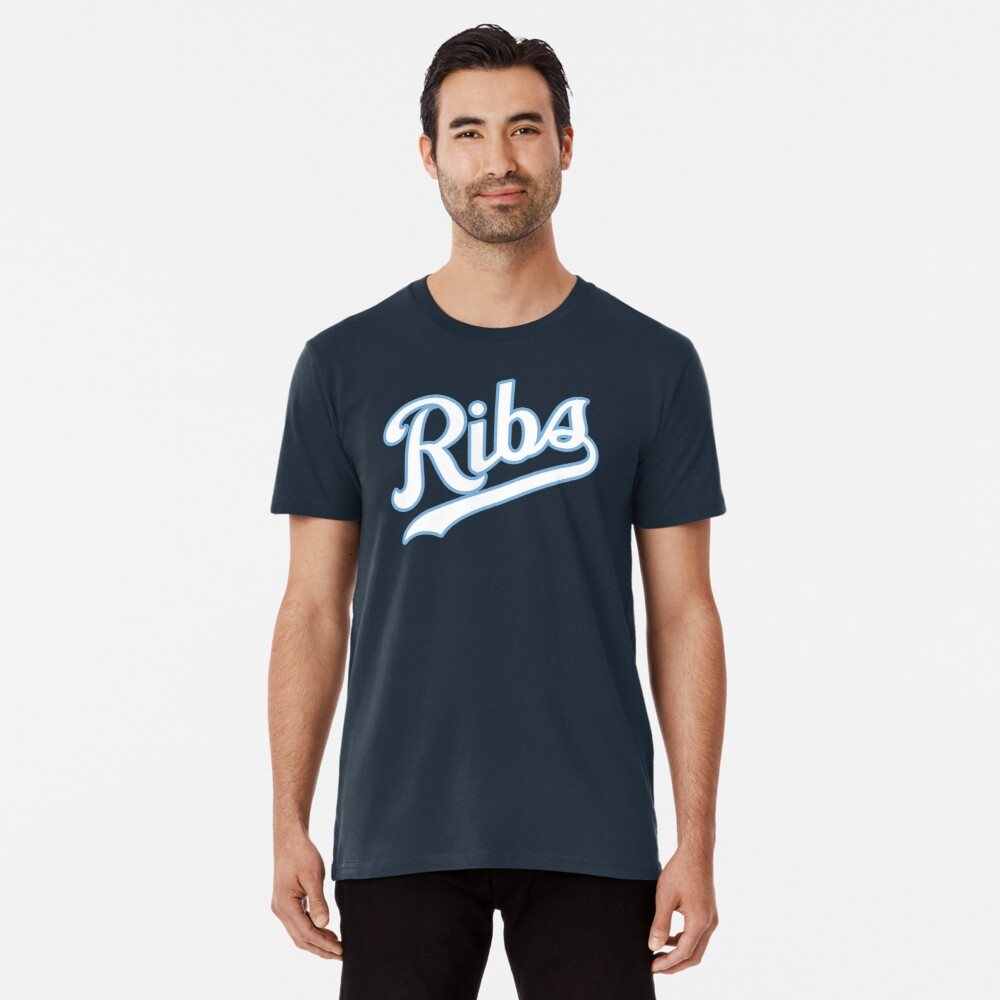 KC Ribs - Blue 2 Premium T-Shirt