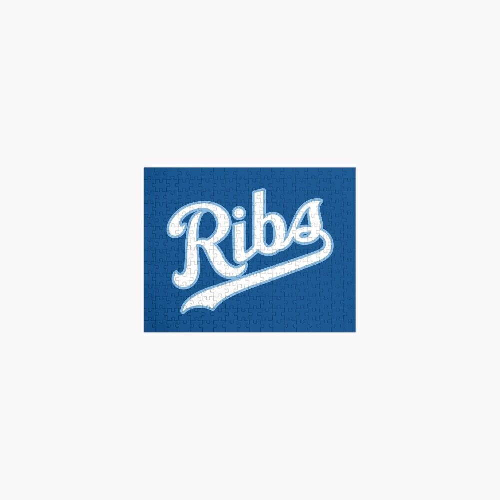 KC Ribs - Blue 2 Jigsaw Puzzle