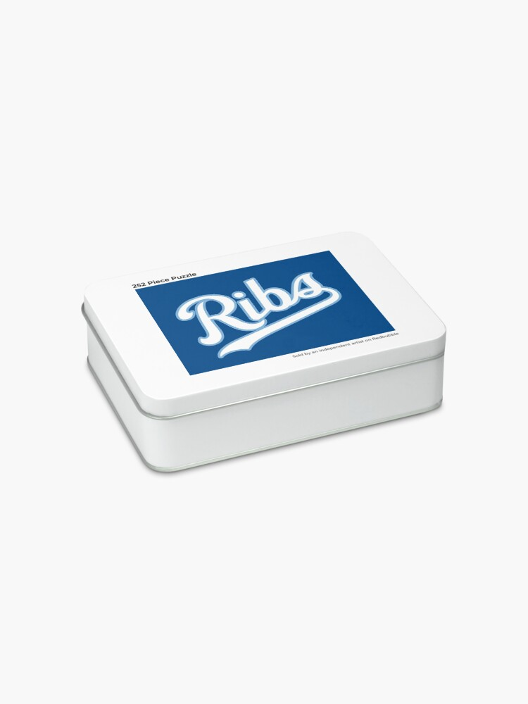 Alternate view of KC Ribs - Blue 2 Jigsaw Puzzle