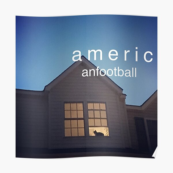 American Football House Posters Redbubble