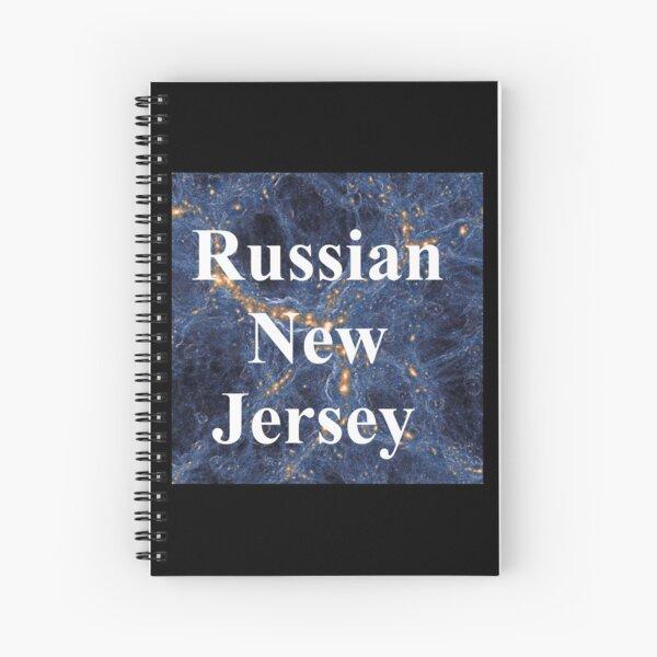 Russian New Jersey Spiral Notebook