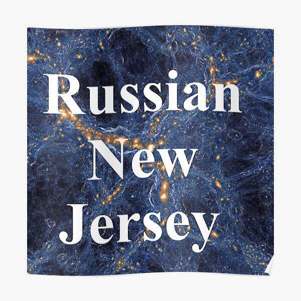 Russian New Jersey Poster