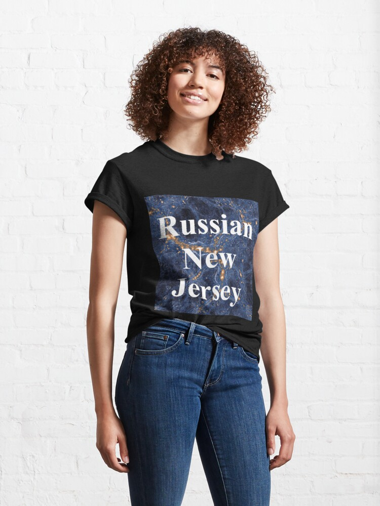 Alternate view of Russian New Jersey Classic T-Shirt