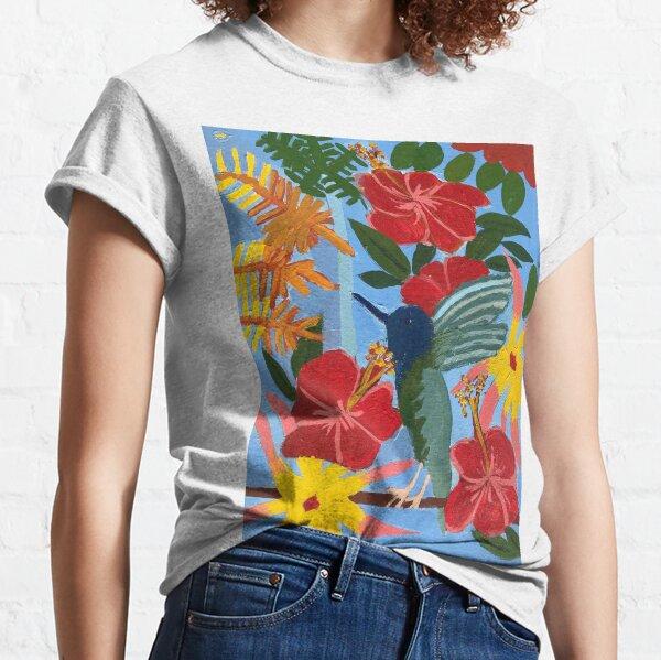 Hummingbird Zionart Zion Levy Stewart Classic T-Shirt