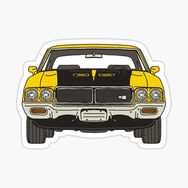 GSX Muscle Car Sticker