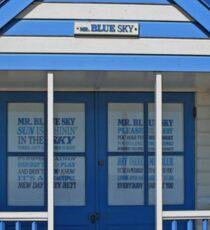 Mr Blue Sky Sticker