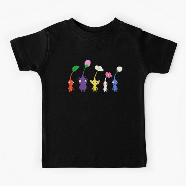 cute pikmin pattern Kids T-Shirt