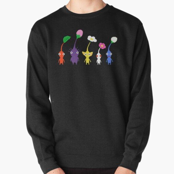 cute pikmin pattern Pullover Sweatshirt