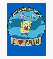 Spongebob's Gym Photographic Print