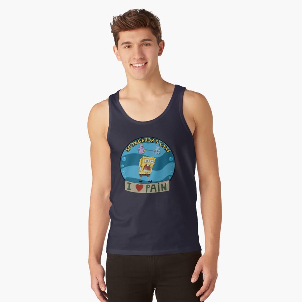 Spongebob's Gym Tank Top