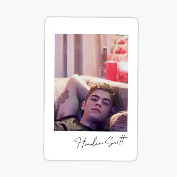 Hardin Scott Polaroid Pegatina
