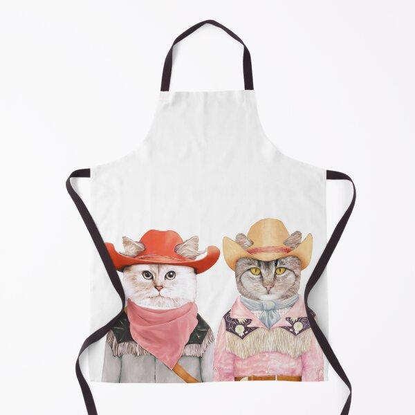 Cowboy Cats Apron