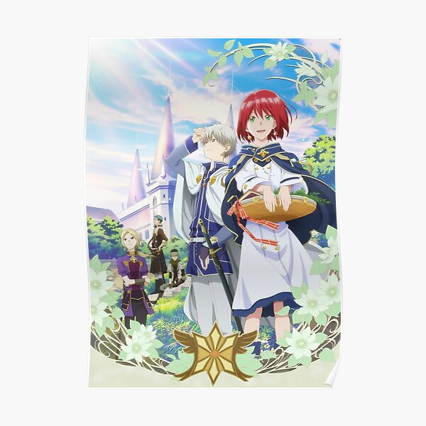 Snow White with the Red Hair / Akagami no Shirayuki-hime Visual Poster