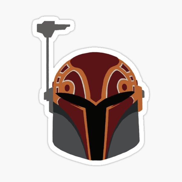 sabine helmet Sticker